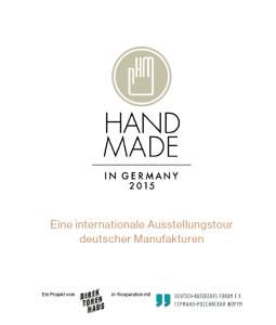 Handmade Plakat 2015