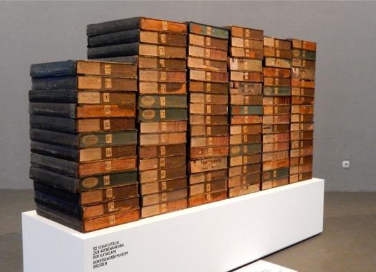 Katagami - Aufbewahrungsschachteln, Die Logik des Regens, Dresden