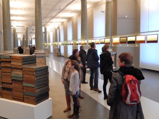Blick in die Ausstellung - Die Logik des Regens, Dresden