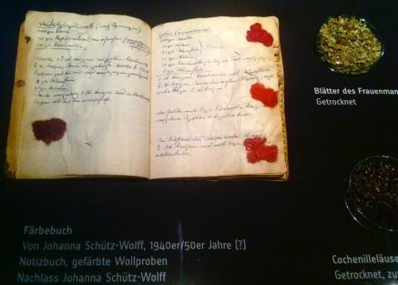 Ausstellung EXPRESSIVE BILDTEPPICHE Johanna Schütz-Wolff im GRASSI Museum für angewandte Kunst, Leipzig, Foto: SvG
