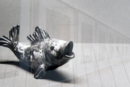 kleiner Keramikfisch von Ricarda Huch