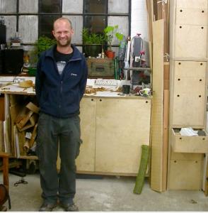 Nic Webb, Oktober 2009 vor seinem Workshop