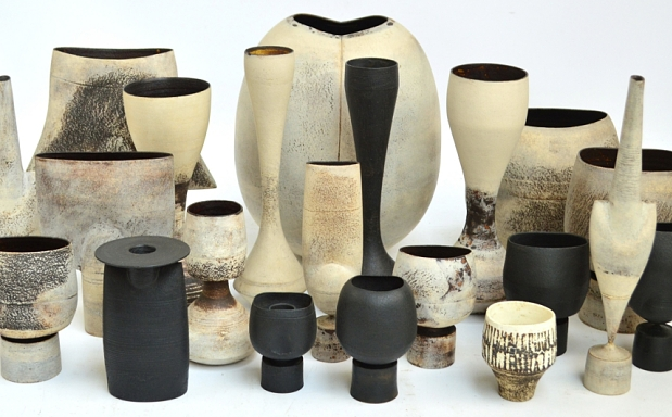 The Firths' collection of 21 pots by Hans Coper Photo: Adam Partridge