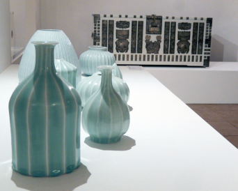 HAN Jung.yong, striped pattern vessels, Porzellan