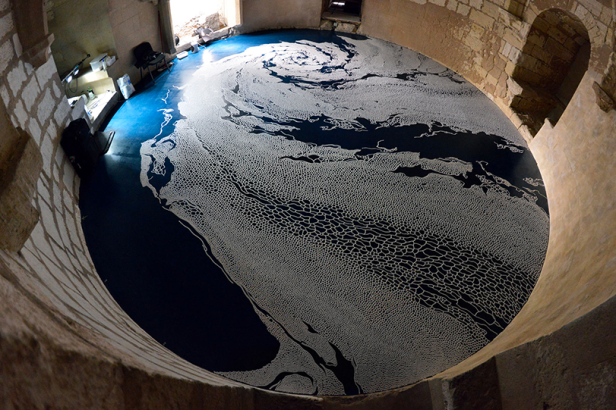 Motoi Yamamoto: Floating Garden, Lunivers'sel, Aigues Mortes 2016