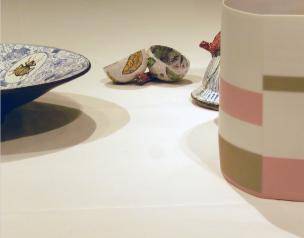 Freunden sei Dank! Ausstellungsdetail, Grassimuseum für angewandte Kunst, Leipzig Foto: Schnuppe von Gwinner