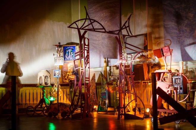 Installationen Reinhard Zabka