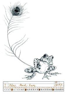 Robert Voss - Encyclopädie der Tiere - Kalenderblatt 2017
