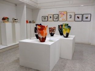 Elke Sada: Ausstellung Galerie terrarossa Leipzig Foto: Schnuppe von Gwinner