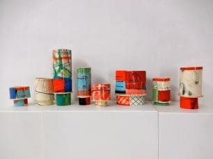 Elke Sada: Capriccio-Gefässe | Galerie terrarossa Leipzig Foto: Schnuppe von Gwinner