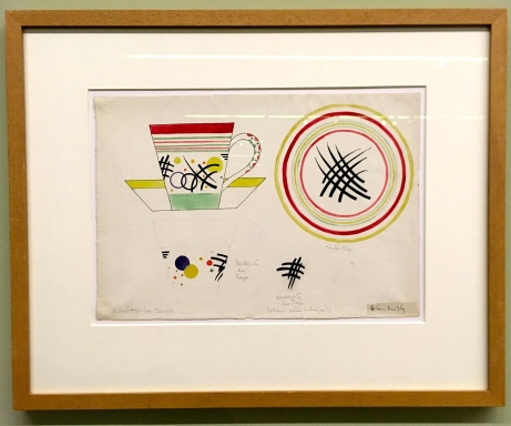 Wassily Kandinsky: Tassenentwurf
