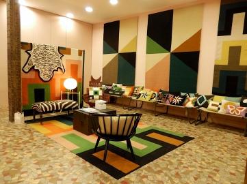 Der neue Showroom mit Heimtextilien von Lindel & Co. | Foto: Schnuppe von Gwinner