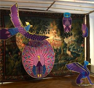 """Les Ateliers d'Aubusson - """"Die Befreiung der Tapisserie"""" - D'Days 2017 Musée des arts decoratifs - Foto: Schnuppe von Gwinner"""