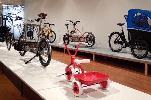 Lasten Fahrräder! Blick in die Bikes Schau GRASSI Museum für Angewandte Kunst Leipzig
