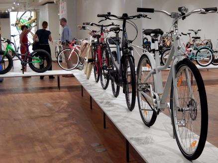Fahrrad für alle! Blick in die Bikes Schau GRASSI Museum für Angewandte Kunst Leipzig