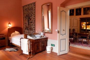 Schloss Wolfshagen Prignitz - Schlafzimmer | Foto: Schnuppe von Gwinner