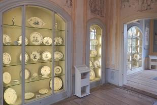 Schloss Wolfshagen Prignitz - Porzellansammlung | Foto: Schnuppe von Gwinner