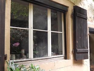 Fenster zu Lotte Reimers' Werkstatt