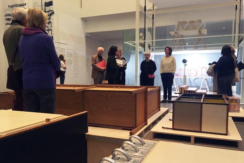 Pressekonferenz Hella Jongerius & Louise Schouwenberg – Beyond the New. Die Neue Sammlung – The Design Museum, München | Foto: Schnuppe von Gwinner