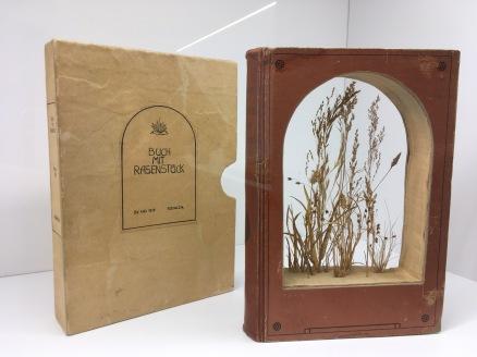 """Hubertus Gojowczyk """"Buch mit Rasenstück"""" 1979 Foto: Schnuppe von Gwinner"""