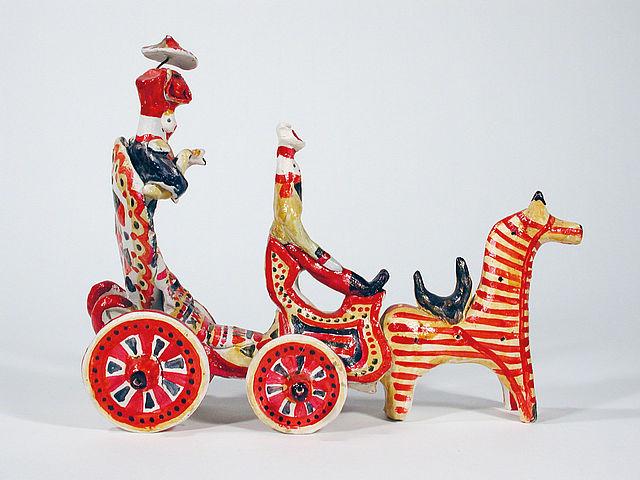 in di figure legno russafiabe popolare Arte e argilla orBxeWdC