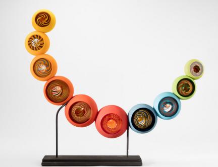 Pascale Seil, Glasskulptur ohne Titel
