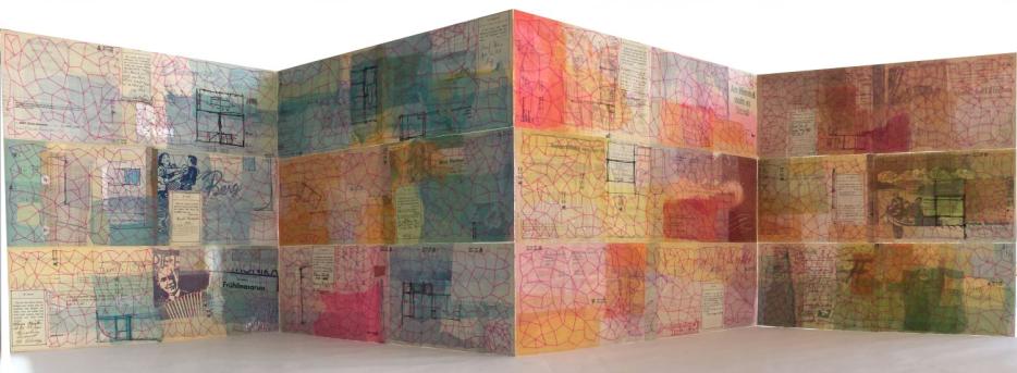 Netzwerk im Fluss der Zeit (Detail) von Judith Mundwiler (D) Doris-Winter-Gedächtnispreis | Foto: Künstlerin