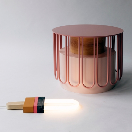 Sidetable TUTU und LIGHT POPP