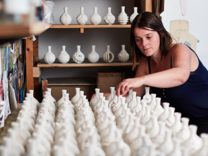 Anna Whitehouse mit 100 bottles in 100 days | Foto: David Lindsey