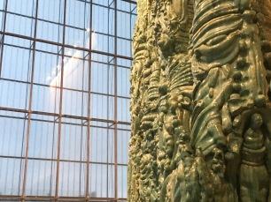 Elmar Trenkwalder - Engel über Licht und Schatten - vom erlösenden Schweigen der Form (Detail) MdbK Leipzig   Foto: Schnuppe von Gwinner