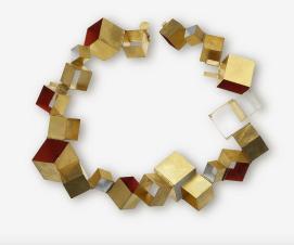 Finalist Loewe Craft Prize 2019 Giampaolo Babetto, Italien, Collana, Gold, Pigmente, 2017