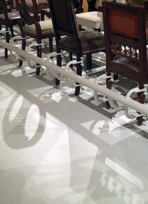 Bauhaus_Sachsen, Grassi Museum für Angewandte Kunst, Alexej Meschtschanow Möbelassemblage | Foto: Schnuppe von Gwinner