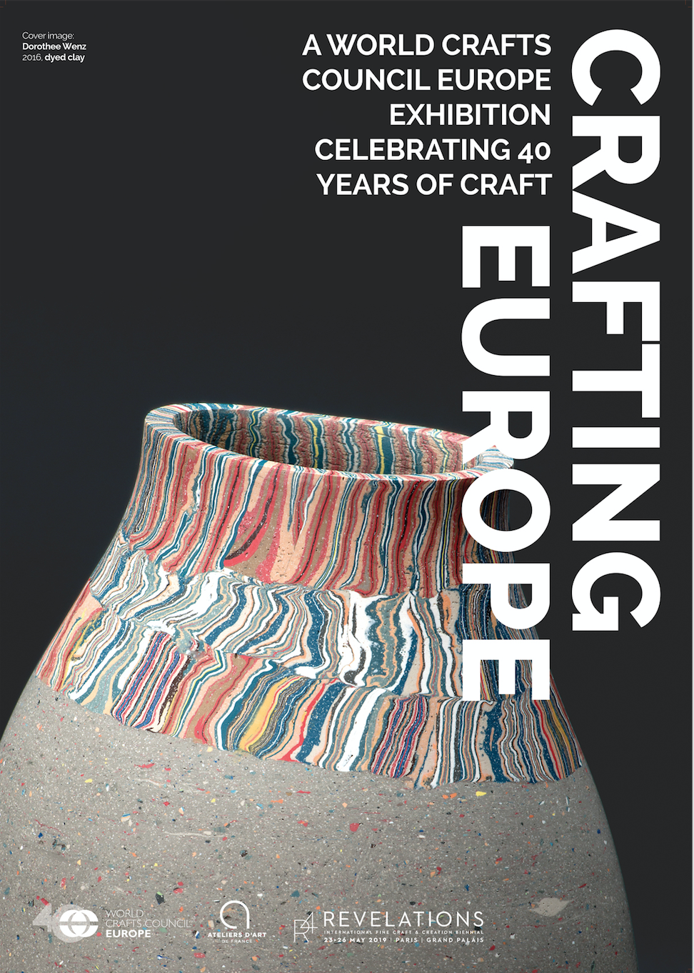 Crafting Europe – 40 Jahre World Crafts Council Europe: Paris vom 23. bis 26.05.2019
