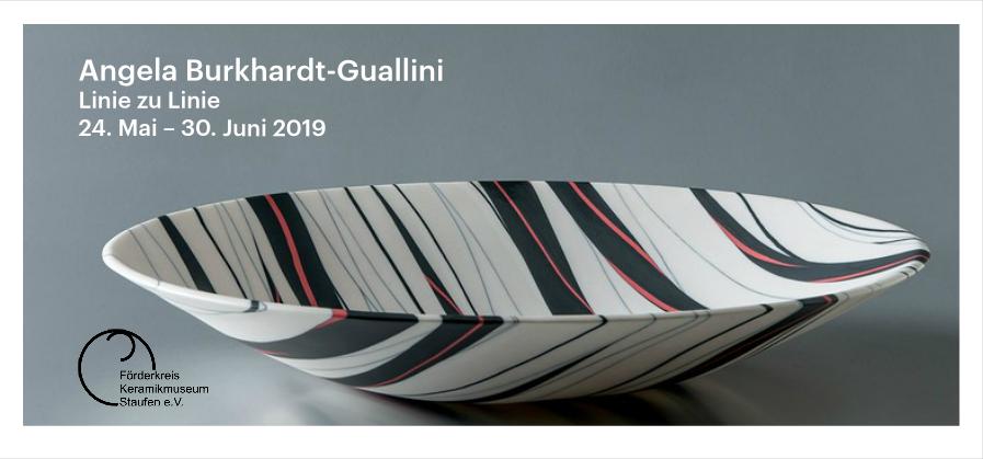 Angela Burkhardt-Guallini – Linie zu Linie: Staufen vom 24.05. bis 30.06.2019