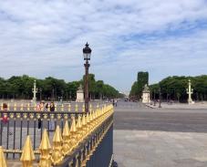 Blick von la Concorde zum Arc de Triomphe | Foto: Schnuppe von Gwinner