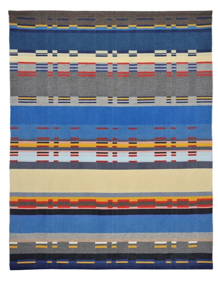 Wolldecke nach einem Entwurf von G. Stölzl | Foto_Fotostudio Kröger