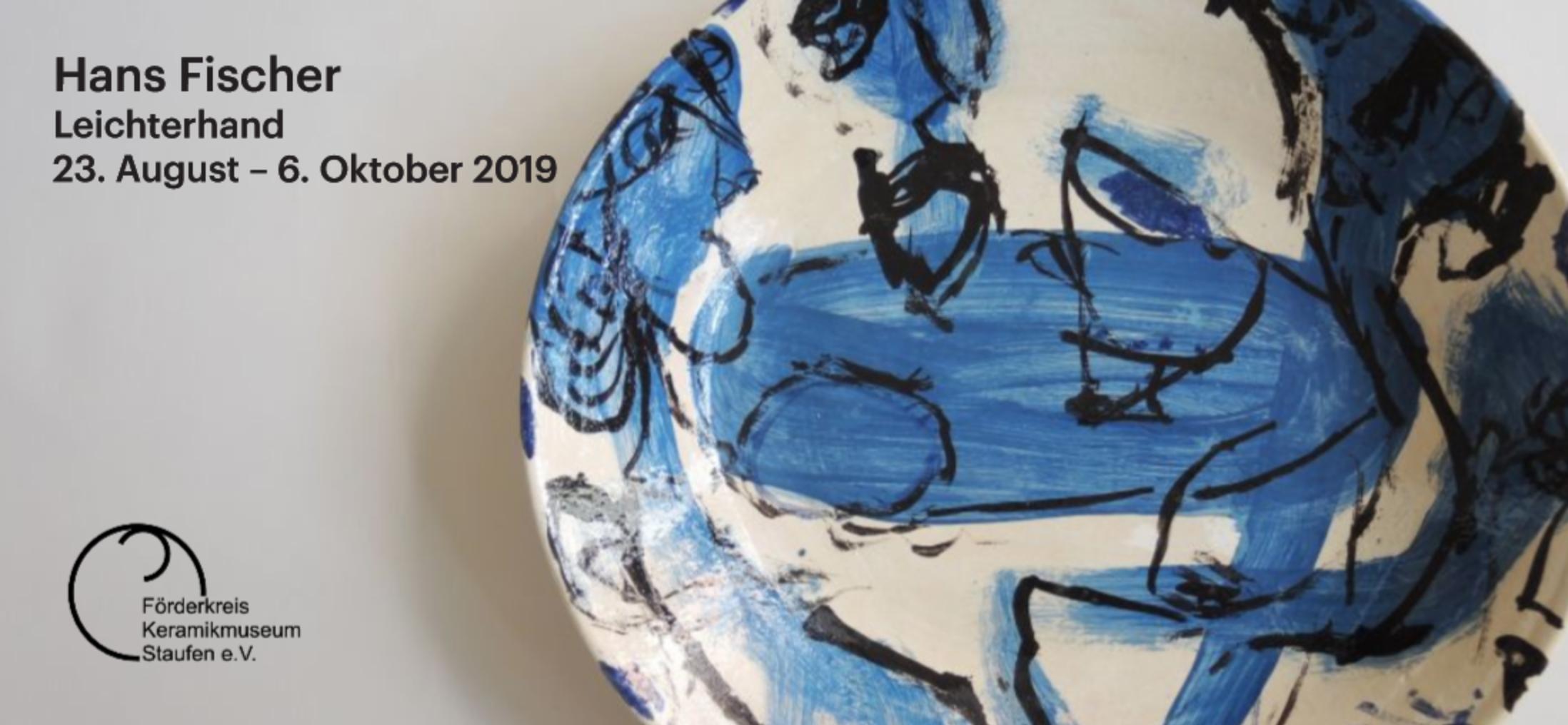 Hans Fischer – Leichterhand: Staufen vom 23.08. – 06.10.2019