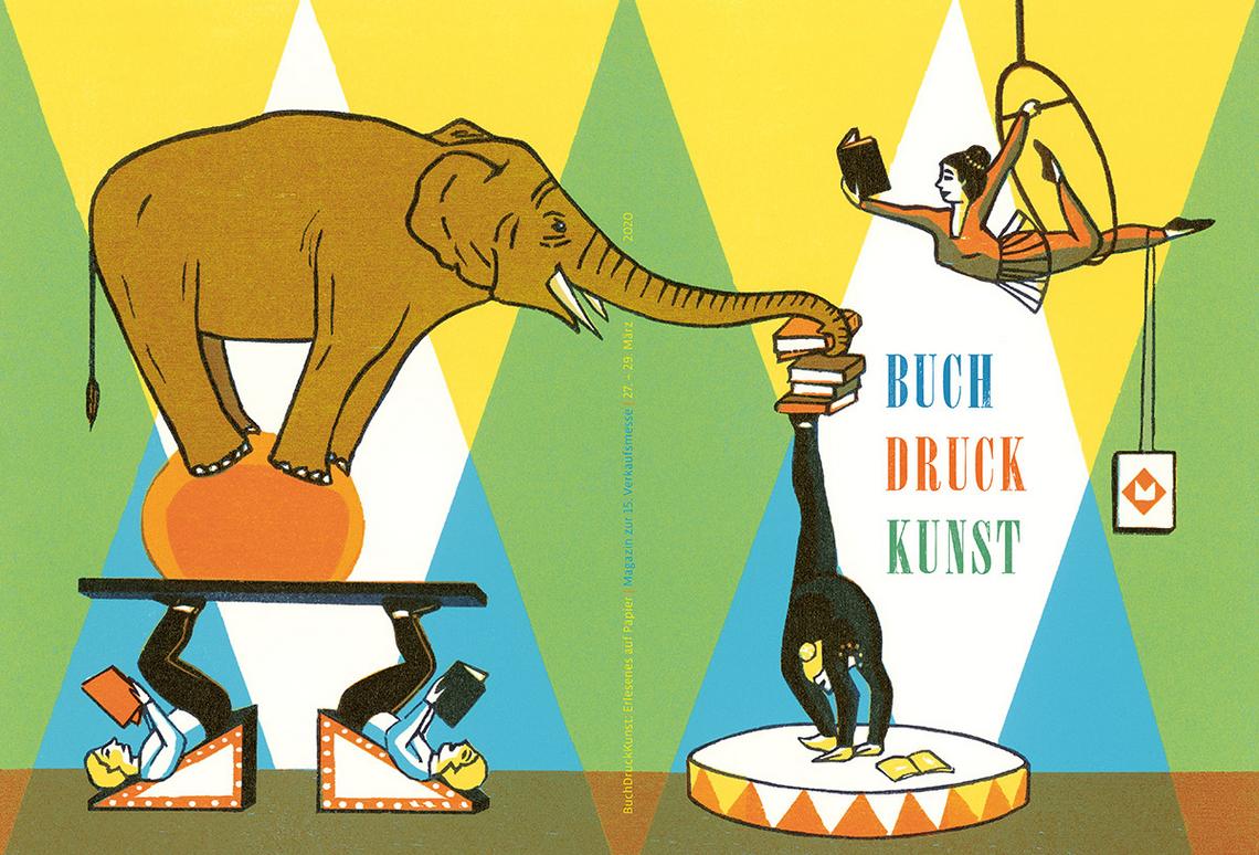 Buch Druck Kunst – Magazin: im wahrsten Sinne des Wortes