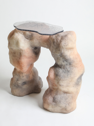 Hoodoo ArchConsole, Elissa Lacoste 2019 Silicone © & Courtesy of Everyday Gallery, Antwerp