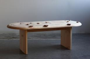 Bench no. 3, Studio Sho Ota Swiss Pine Courtesy of Studio Sho Ota