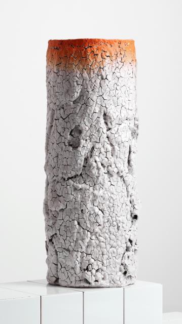 """Irina Razumovskaya, Russland/Großbritannien: """"Barkskin"""" (Rindenhaut); Gefäß; Steinzeug, handaufgebaut, gedreht, engobiert, glasiert; 70x30x30 cm; Foto: Irina Razumovskaya"""