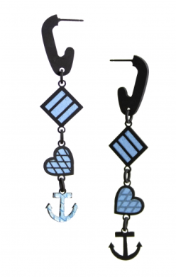 Ornamentum_Aaron Decker_ Anchors Away_ 2020,_earrings