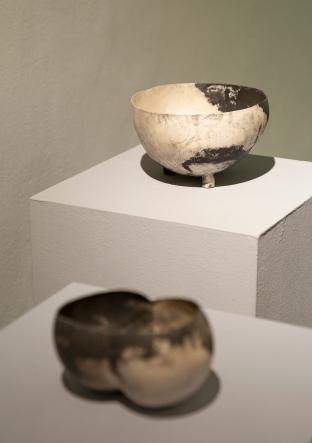 Galerie Biró_Peter Bauhuis, 2 Schalen, Silber, Feinsilber