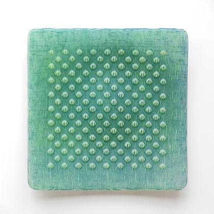 Ulrike Umlauf-Orrom_Schale Giverny, 48x48 x 7 cm, 2018_203