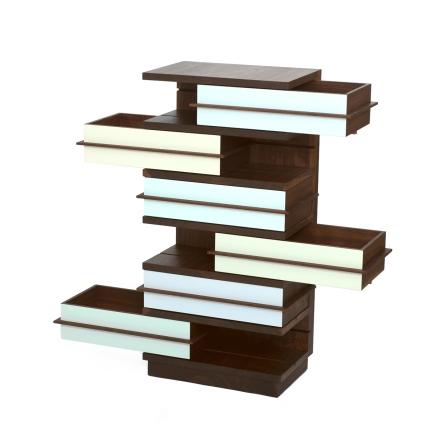 Vertigo mit Schubkästen - Möbelstück von Martin Wilmes