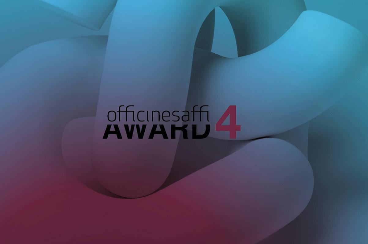 Officine Saffi Award 4: Bewerbungsfrist bis 30.11.2020