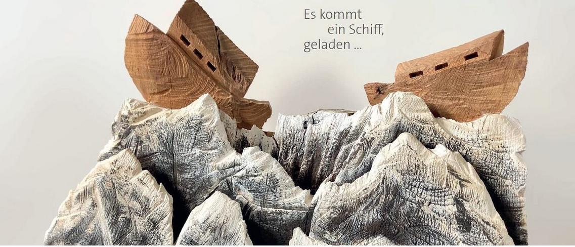 """""""Künstlerisches Spielzeug – spielerische Kunst"""" Es kommt ein Schiff, geladen… : München 01. bis 23. 12. 2020"""