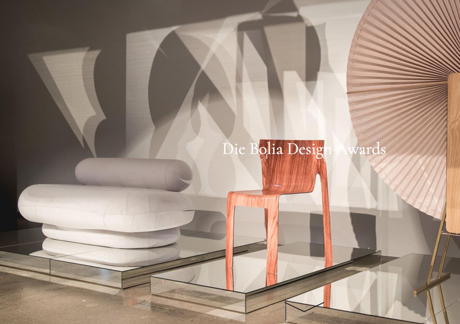Bolia Design Awards 2021: Bewerbung bis 19. 04. 2021