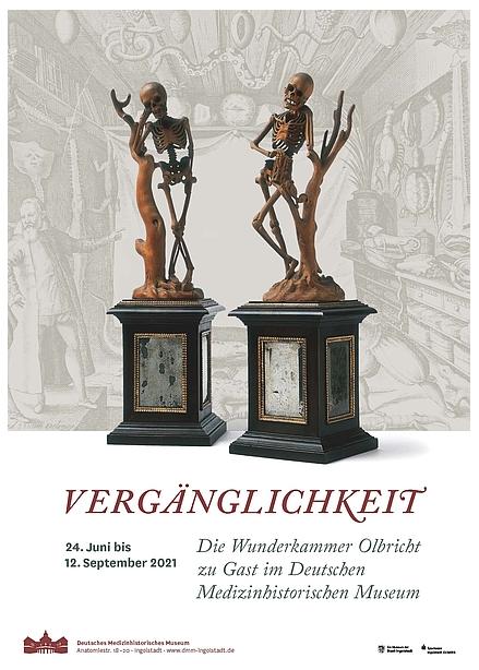Vergänglichkeit – Die Wunderkammer Olbricht: Ingolstadt bis 12.09.2021