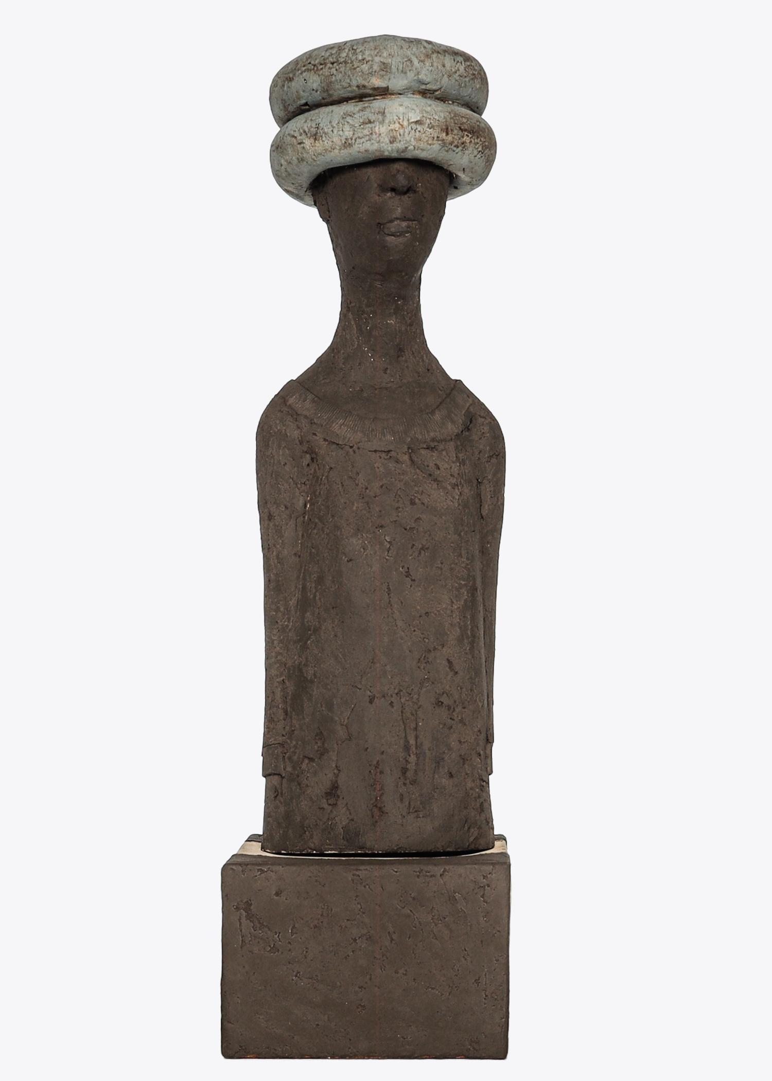 Katharina Ortleb_DER INNERE BLICK-Große Version_Keramik_Foto Alexander Barwich